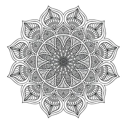colouring pages  stunning mandalas  colour