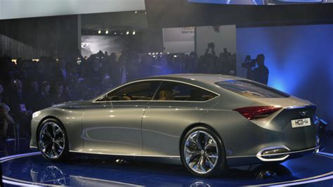 Hyundai Genesis Four Door by Hyundai Mulling Four Door Coupe Model V8 Or V6 Turbo For