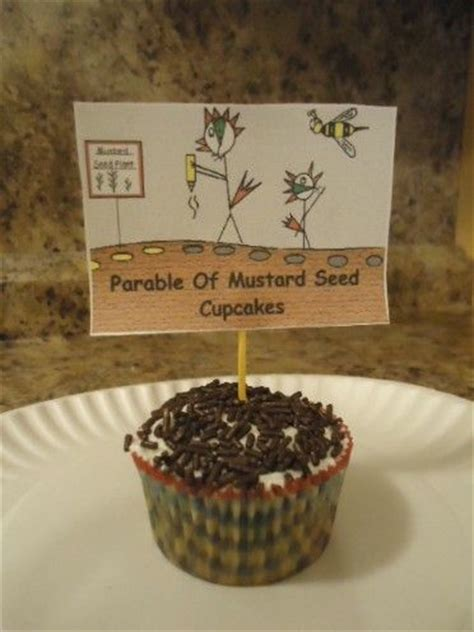 Family Tree 39 S House Collection The Parable Of The Mustard Seed Cupcakes Bible Cupcakes