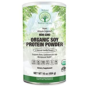 Amazon.com: Natural Nutra Organic Soy Protein Isolate