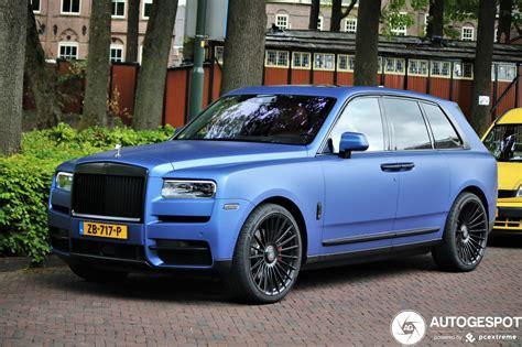 Hacer un vehículo de lujo, que sea capaz de llegar donde llega el nuevo cullinan y. Rolls-Royce Cullinan - 2 mei 2020 - Autogespot