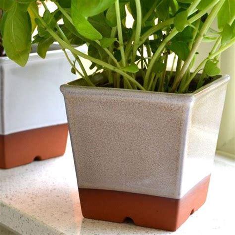 Kitchen Windowsill Herb Pots by Windowsill Herb Pots Weston Mill Pottery Uk