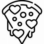 Pizza Icon Icons Easy Drawings Freepik Designed