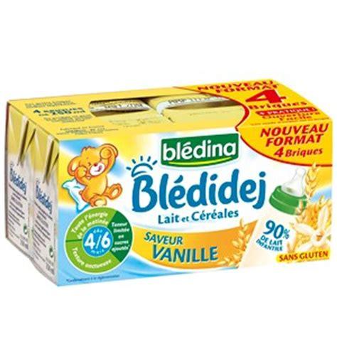 siege auto et age blédina blédidej lait céreales dès 4 mois 4x250ml