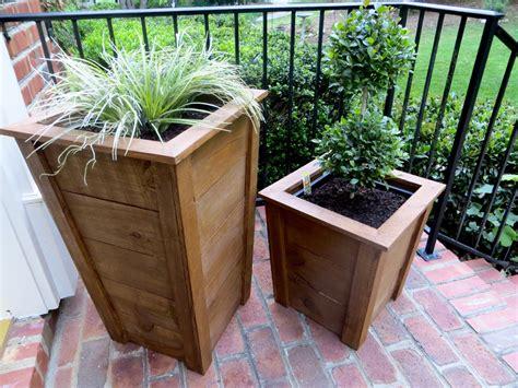 project lady diy tutorial decorative wood planter boxes