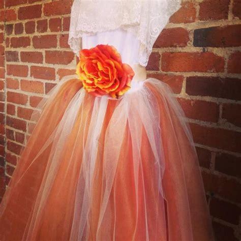 burnt orange flower girl tutu dress  lace collar fall