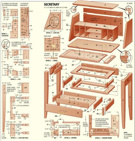 wood furniture plans  craft plans  diy
