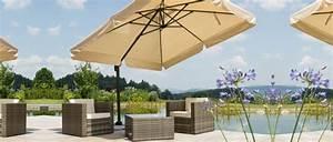 sonnenschirme ampelschirme fur garten und terrasse With französischer balkon mit garten sonnenschirm
