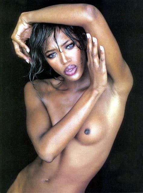 Naomi Campbell Hard Nipples Collection
