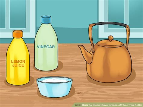 3 Ways To Clean Stove Grease Off Your Tea Kettle  Wikihow. Kitchen Safety Powerpoint. Wall Clocks For Kitchen. The Honest Kitchen Dog Food Recall. Rustoleum Kitchen. Kitchen Cookware Set. Kids Corner Kitchen. Kitchen Faucets Black. Adding Cabinets To Existing Kitchen