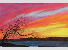 Kino Bay Sunset & Tree Silhouette in Pastel Leeann's