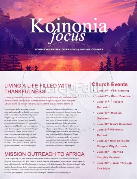 church summer camp newsletter template newsletter templates