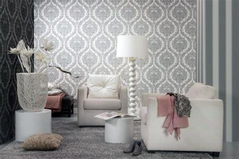 papier peint salon moderne papier peint intiss 233 25 designs originaux pour le salon