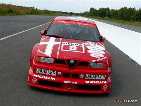 Alfa Romeo 155 2.5 V6 TI DTM SE052 (1993) pictures (640x480)