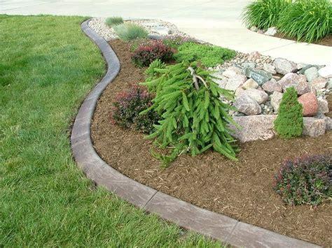 mow lawn edging concrete mowing edge google search culvert landscaping pinterest search poured concrete