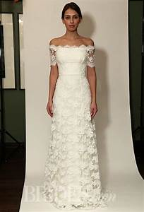 temperley bridal fall 2014 sienna off the shoulder With lace off the shoulder wedding dress