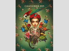 Livre Calendrier 2015 Benjamin Lacombe Messageries ADP