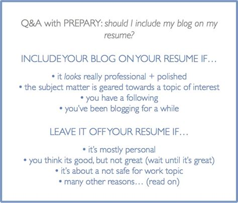 What Should I Include In My Resume For Graduate School by Should I Include My On My Resume The Prepary The Prepary
