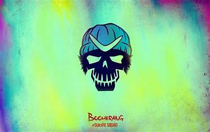 Squad Suicide Skull Wallpapers Boomerang Captain Cool