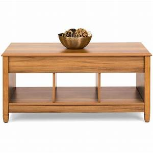 modern lift top coffee table w hidden storage golden With golden oak coffee table