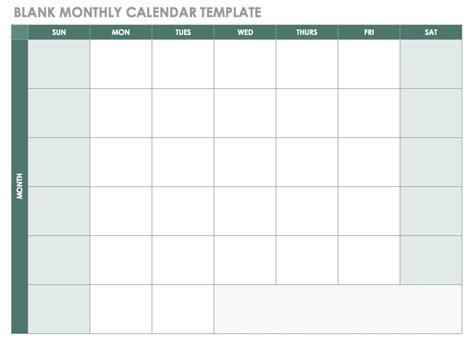 Monthly Calendar Template Blank Monthly Employee Schedule Template Calendar