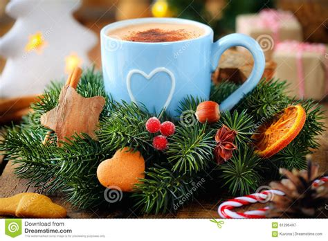 Christmas Coffee Stock Image. Image Of Gifts, Hazelnut Best Coffee Maker With Pods Company Affordable Kitchenaid Easy To Use Machine Grinder Keeps Hot Glass Top Table Vancouver