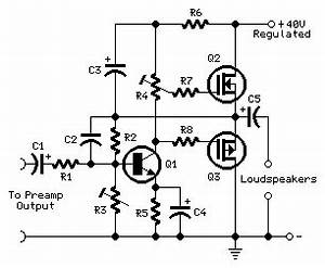 simple 30w mosfet audio power amplifier by irf530 and With amplifier with tone controls and soft switching