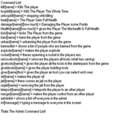 Admin Gear Commands Roblox List - Thepix info | Mungfali
