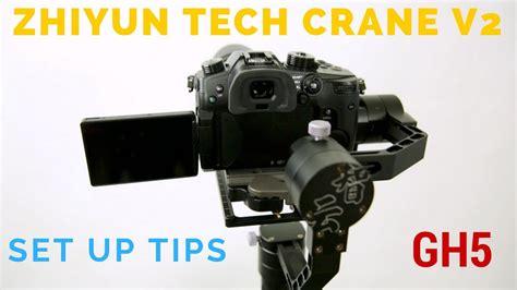 Zhiyun Tech Crane V2 zhiyun tech crane v2 how to set up and tips zhiyun tech