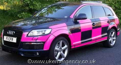 light pink audi f1 cfr this audi q7 response vehicle is used by cf