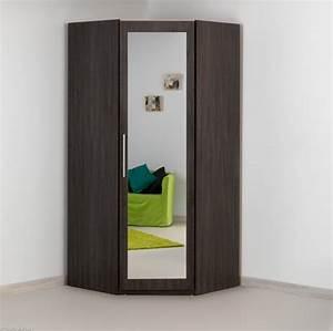 Meuble D Angle Chambre : armoire d 39 angle ~ Teatrodelosmanantiales.com Idées de Décoration