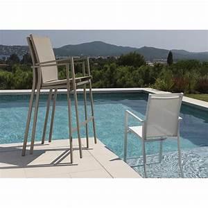 Bar Exterieur De Jardin : chaises hautes pour mange debout maiorca par talenti ~ Dailycaller-alerts.com Idées de Décoration