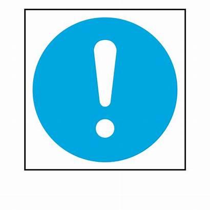 Mandatory Symbol Safety Sign Select