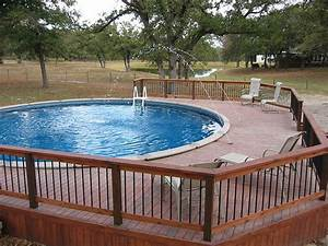 Pool, Above, Ground, Pool, Deck, Plans, For, Durability, And