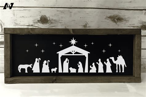 Learn why svg is superior to pixel graphics in terms of scalability, responsiveness, interactivity here's an image in svg. Free Layered Nativity Svg Ideas - Layered SVG Cut File