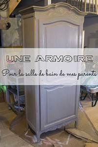 Armoire Pour Salle De Bain : une belle armoire pour la salle de bain de mes parents ~ Teatrodelosmanantiales.com Idées de Décoration