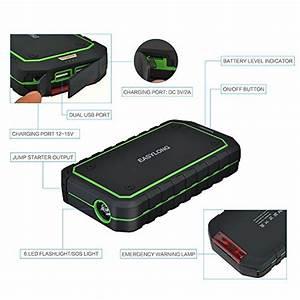 Booster Batterie Voiture : booster batterie portable victsing 400a peak 12000 mah jump starter d marreur de voiture et ~ Medecine-chirurgie-esthetiques.com Avis de Voitures