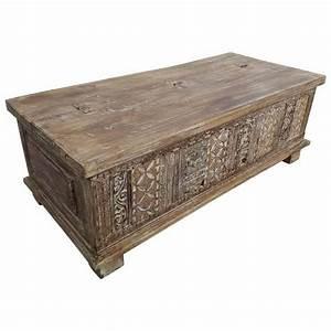 Truhe Aus Holz : truhe kiste holztruhe vintage massiv holz box aus altholz ~ Watch28wear.com Haus und Dekorationen