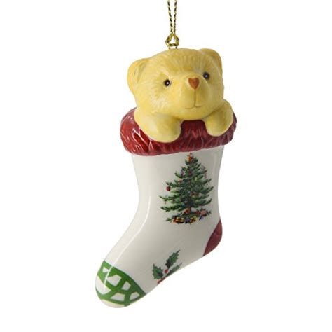 teddy bear bear tree ornaments for christmas it s