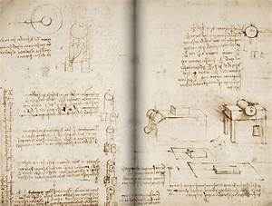 570 Pages Of Leonardo Da Vinci U0026 39 S Manuscripts Are Online