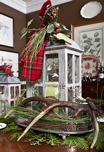 1000 images about Deer Antler Christmas decor on