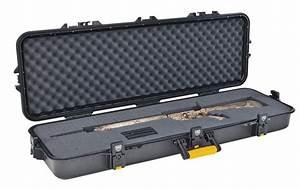 Tactical AR-15 Case Rifle Gun Hard Padded Black All ...
