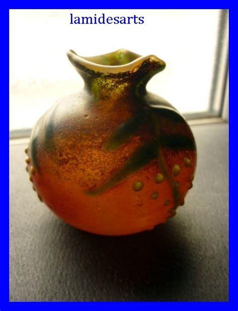 pate de verre schneider schneider vase pate de verre emaille 1915