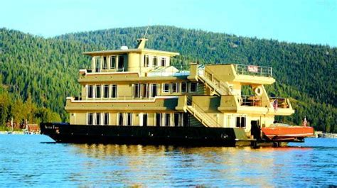 Houseboats For Sale Lake Tahoe by Or Beast Large Boat Turns Heads