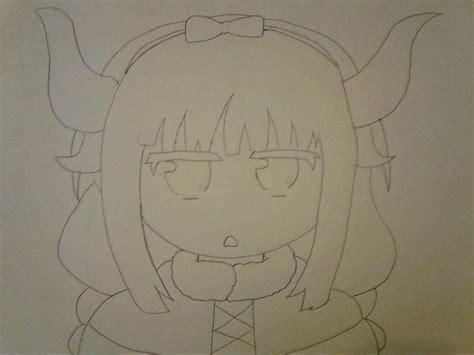 kanna kamui drawingcoloring process anime amino