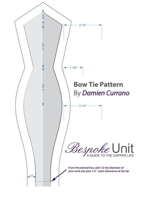 bow tie pattern printable
