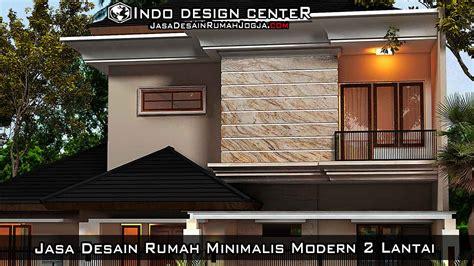 jasa desain rumah minimalis modern  lantai arsip jasa