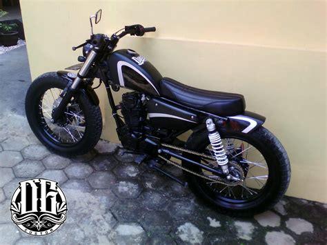 Modifikasi Motor Gl 100 by Tangki Knalpot Kustom Gl 100 Custom Chopper Wanna Be