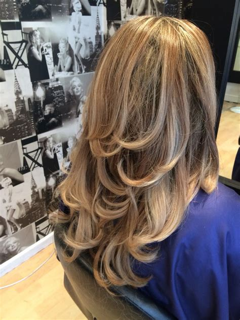 blonde light brown subtle ombre gorgeous thick hair