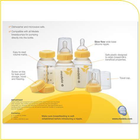 Amazoncom Medela Breast Milk Bottle Set 5 Ounce 3
